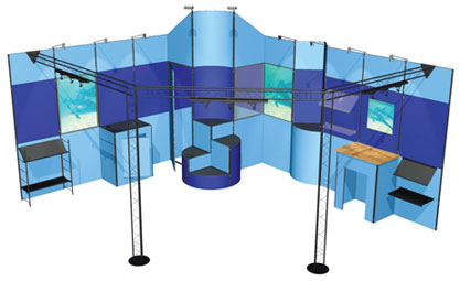 Exhibition Stand Quotation Format : Custom designed exhibition stands