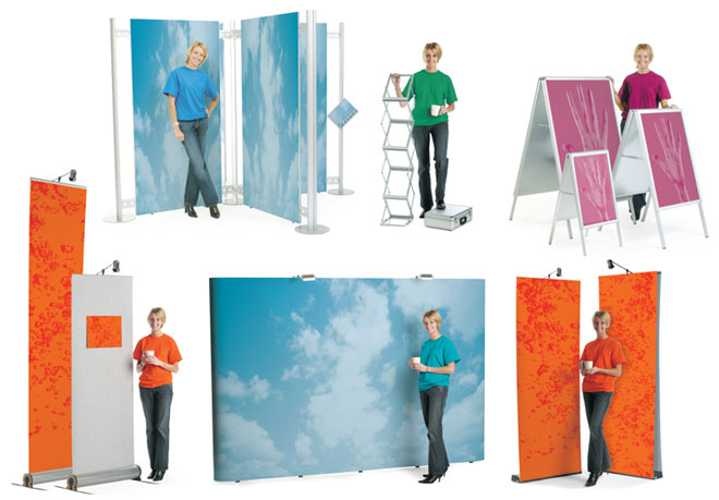 Portable Exhibition Stands Uk : Portable exhibition pop up stands